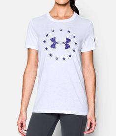 7880a563 Women's UA Freedom Logo Short Sleeve | Under Armour US Freedom Logo,  Christmas Wishes,