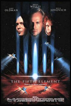FIFTH ELEMENT, THE (The Fifth Element Movie Poster (1997) - Movie Posters, Lobby Cards, Vintage Movie Memorabilia - 1920s to present @ Film Posters