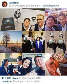 2017bestnine - lainetom's best nine on Instagram in 2017