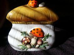 Mushroom Napkin Holder by ShineTeketa on Etsy, $11.00 - These match my canisters!