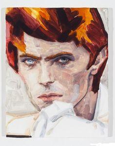 David Bowie Elizabeth Peyton, 2012