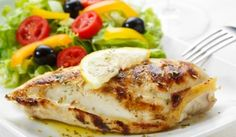 This easy two ingredient lemon pepper chicken breast is juicy and flavorful with lovely lemon pepper seasoning that can be oven baked, grilled or cooked on the stovetop. Grilled Lemon Pepper Chicken, Roasted Chicken Breast, Grilled Chicken, Recipes With Chicken And Peppers, Chicken Stuffed Peppers, Chicken Recipes, Sauce Recipes, Soup Crocks, Ground Turkey Recipes