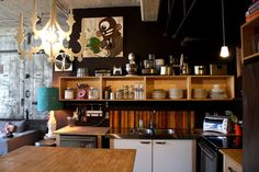 Kitchen Tour: Sarah Rae's Open, Art-Filled Kitchen