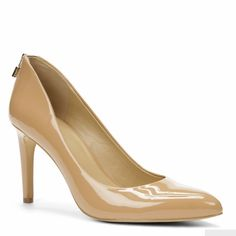 """BNIB Ann Taylor patent Liz heels BNIB. Never worn! Excellent condition. Zipper detailing on back. Padded footbed. 3.5"""" heel. Fits TTS. Also have in black. Ann Taylor Shoes Heels"""