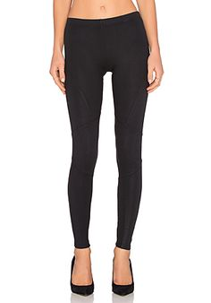 Splendid Coated Legging in Black | REVOLVE