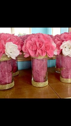 Quinceanera Party Planning – 5 Secrets For Having The Best Mexican Birthday Party Baby Girl Shower Themes, Girl Baby Shower Decorations, Baby Shower Princess, Baby Shower Games, Birthday Party Decorations, Sweet 16 Centerpieces, Wedding Centerpieces, Wedding Decorations, Diy Baby Shower Centerpieces