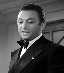 """Marcel Dalio - Emil the croupier in """"Casablanca"""" (for which he was paid $667). In one of the movie's memorable scenes, when Renault closes down Rick's Cafe Americain using the pretext, """"I am shocked, shocked to find that gambling is going on in here!"""", Emil approaches him and hands him his usual bribe money as """"Your winnings sir."""" His wife Madeleine LeBeau was also in the film, playing Yvonne, Rick's on-again, off-again girlfriend."""