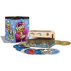 Toy Story Trilogy  Blu Ray+DVD+Digital  10-Disc Box Set $75 - Disney Store