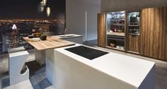 [New product 2014] The Filoantis kitchen reinterprets the archetype of the traditional kitchen in a very modern key. Not by chance is enriched with prestigious and eco-friendly materials, the National Walnut Wood, Rovere materia and Ecomalta in many shades. Different finishes, all deeply researched, which can live separately or combined in order to give birth to elegant visual effects.