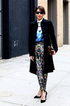 Street Style at New York Fashion Week Fall 2013