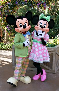 Mickey Mouse and Minnie Mouse, Easter at Big Thunder Ranch