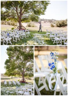 Santa Ynez California Small Vineyard and Private Farm Wedding Photography - Simple Ceremony Floral Decor White and Blue  Boutique Destination Wedding Photography by Paul & Jewel - International Lifestyle Photographers