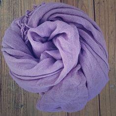 CHAN LUU Cashmere/Silk Scarf Lavender. Large size. Chan Luu Accessories Scarves & Wraps