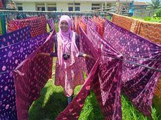 Kain Jumputan Palembang