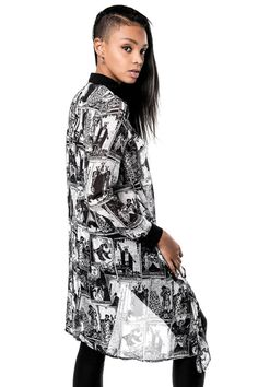 Tarot The Magician Shirt-Dress [B]