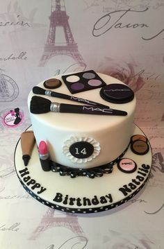 Mac make-up cake                                                                                                                                                      More