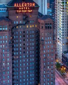 The Allerton Hotel - Chicago, Illinois #Jetsetter