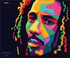 Bob Marley Painting, Bob Marley Art, Graphic Design Illustration, Illustration Art, Rasta Art, Sketch Manga, African Art Paintings, Nesta Marley, Pop Art Portraits