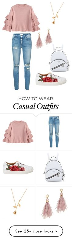 """""""Casual"""" by goldfishgirl507 on Polyvore featuring Mother and Lizzie Fortunato"""