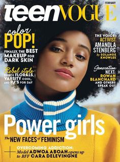 """Amandla Stenberg  On Thursday night, Amandla Stenberg made a simple declaration on Teen Vogue's Snapchat: She is bisexual.  """"I cannot stress enough how important representation is,"""" Stenberg, who starred in the first Hunger Games as the ill-fated Rue, said.  As someone who identifies as a black, bisexual"""