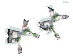 Buzz Lightyear Buzz Lightyear, 3d Paper Crafts, Paper Toys, Anniversaire Woody, Barbie Em Paris, Toy Story Crafts, Festa Toy Story, Light Year, Toy Craft