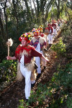 Zvončari (the bellmen) is the characteristic folk custom maintained in the region around Rijeka, Croatia.