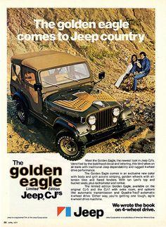 Vintage Jeep Advertisement