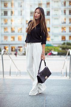 street-style-wide-leg-pants-trousers-cream.jpg 700×1,050 pixels