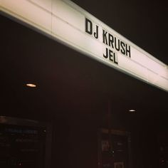 Always dope! #djkrush #theroxy. #triphop #legend #concert #dopeness #hiphop #sensei #turntablism thanks for rollin thru @joblaze_mayne and always dope seein ya fam ;) @irie1029 by djchuck1 http://ift.tt/1HNGVsC