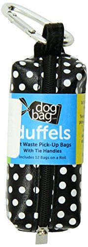 Doggie Walk Bags Duffel Bags for Dogs, Ocean, Black Dot, Yellow >>> Learn more @