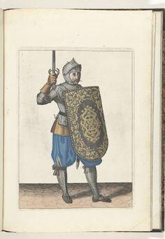 De exercitie met de targe en rapier no. 5 (1618)