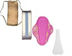 Overview of sanitary napkins (menstrual pads) of past and present