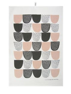 Sockeri tea towel by Finnish Kauniste.