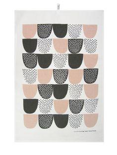 Sockeri tea towel by Finnish Kauniste.