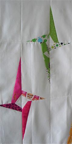 "Gypsy Interior-Dress My Wagon| Serafini Amelia| Mix Patterns& Designs| ""Swirling Stars"" by Jacquie Gering of Tallgrass Prairie Studio."