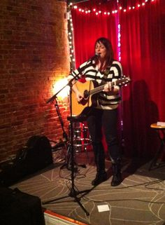 Erisa Rei performing at Foam Coffee and Beer in St. Louis, Missouri. #behindthescenes #erisarei
