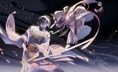 Anime Touken Ranbu  Mikazuki Munechika Imanotsurugi (Touken Ranbu) Wallpaper