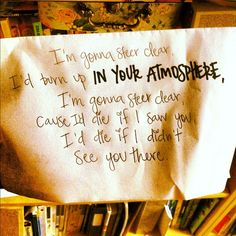 In Your Atmosphere - JM <3 ... my #1 favorite song of all time