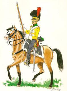 Dragones de Villaviciosa 1815