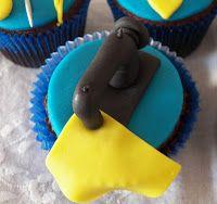 Cupcakes de Moda - Máquina de Costura