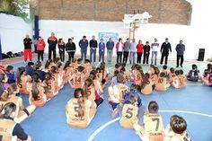 Así Somos: Apertura Oficial de la Escuela Básquet de Quilino ...