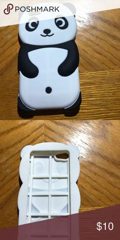iPhone 5 case panda iPhone 5 case panda gently used but in good condition. Accessories Phone Cases