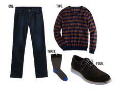 GentlemanStanding Style Board featuring #JoesJeans, #JCrew, #Corgi, #ColeHaan