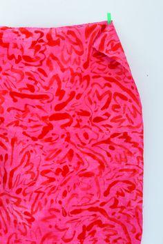 Bright Blossom Fabric — OK