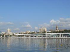 Málaga desde el Muelle Uno.