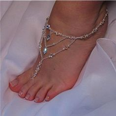 #Beach #Barefoot # Wedding #Sandals