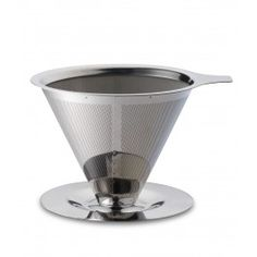 Teministeriet Paperless Coffee Dripper Silver