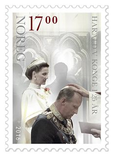 King Harald V Silver Jubilee | Official Norway Stamps | Start collecting Norway and other Nordic Stamps