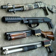 Shotguns for days!! No matter the set up, it still depends on you knowing how best to utilize it for home defense. Check out our courses on shotguns at www.superiorsecurityconcepts.com