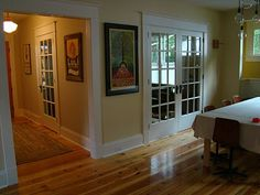 Craftsman head casing and baseboard